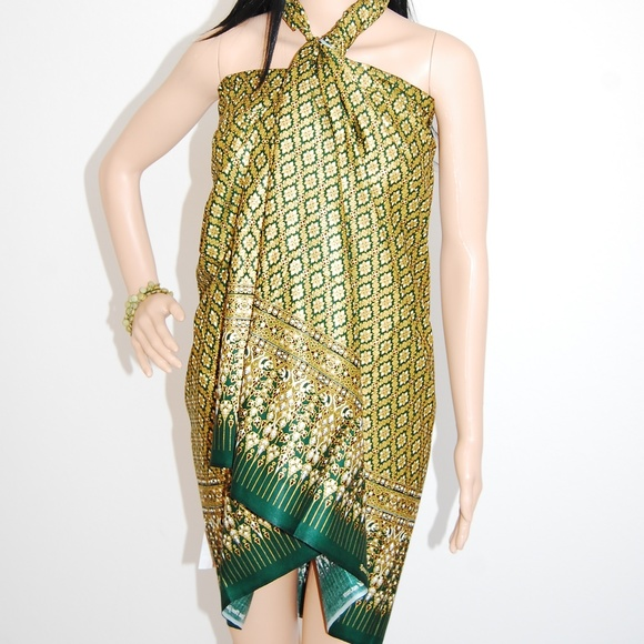 Batik Ratna Dewi Other | Malong Swimsuit Coverup Versatile Tube ...